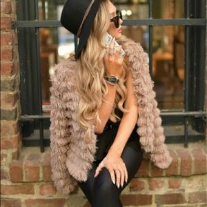 Jackets & Blazers - Just In! MUST HAVE!! Faux fur tan jacket